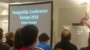 PostgreSQL Conference Europe 2018 参加レポート